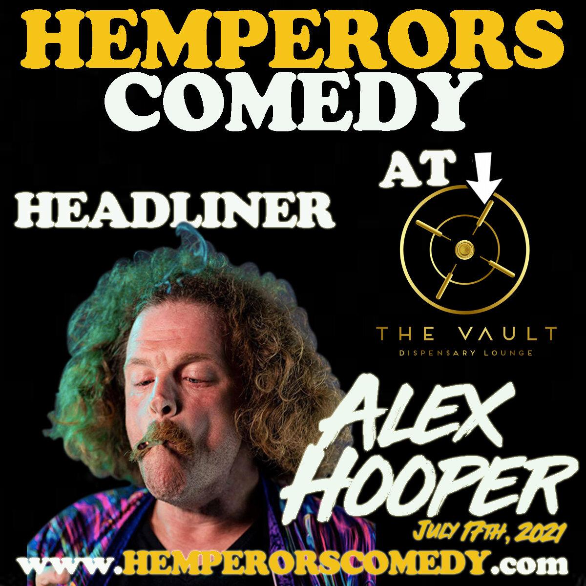 Alex Hooper Comedy Night